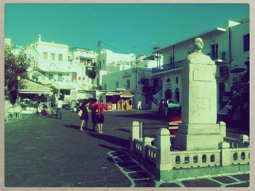 Πλατεία Μαντώς Μαυρογένους (Mantos Square)