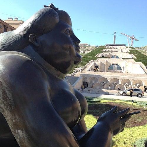 Cafesjian Sculpture Garden | Գաֆէսճեան քանդակների պարտեզ