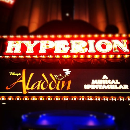 Hyperion Theater - Disney's Aladdin A Musical Spectacular