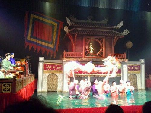 Nhà Hát Múa Rối Thăng Long (Thang Long Water Puppetry Theatre)