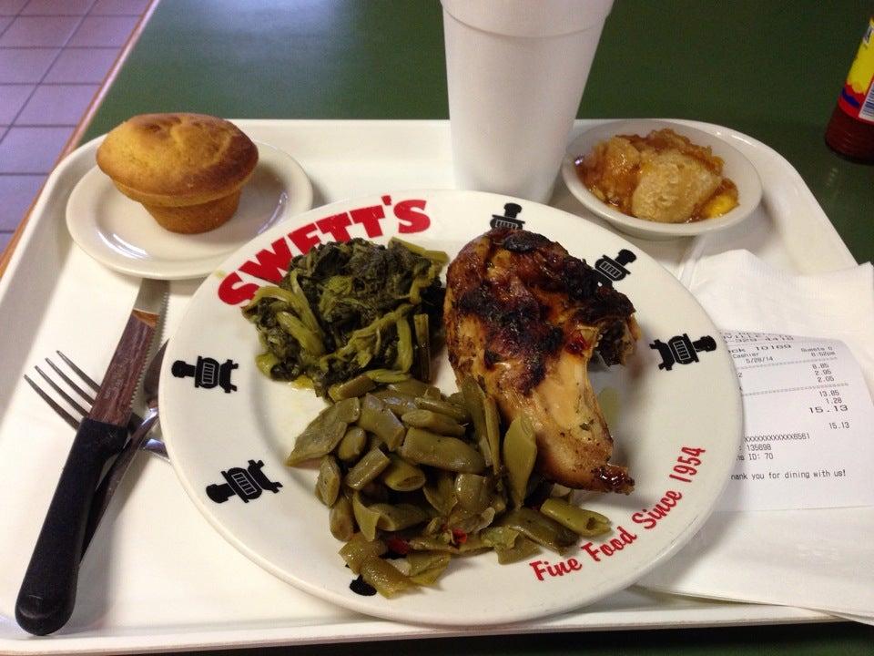 Swett's Restaurant,meat and three