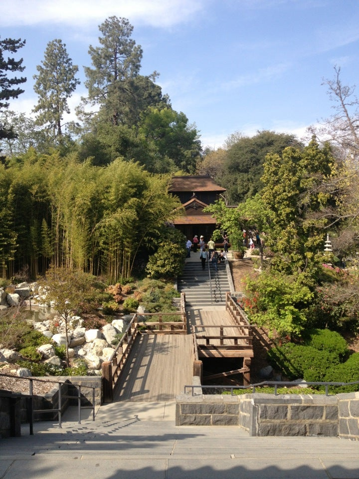 Huntington Botanical Gardens Conservatory