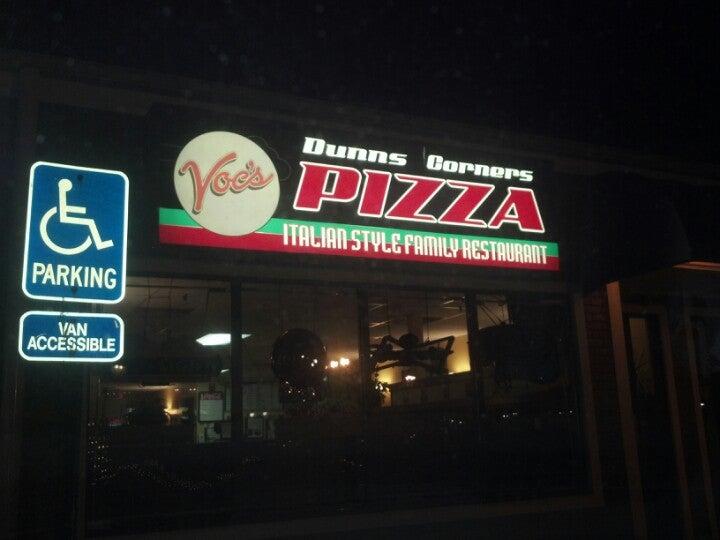 Dunn's Corner Pizza,pizza