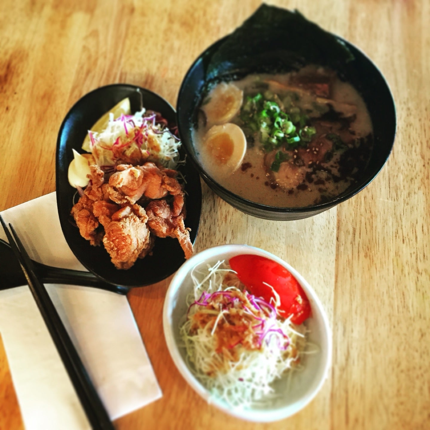 Chashu and pork belly