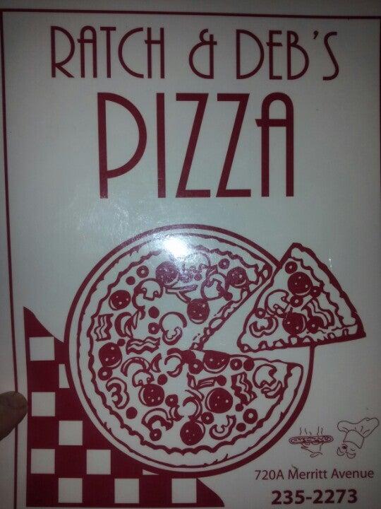 RATCH & DEB'S PIZZA,