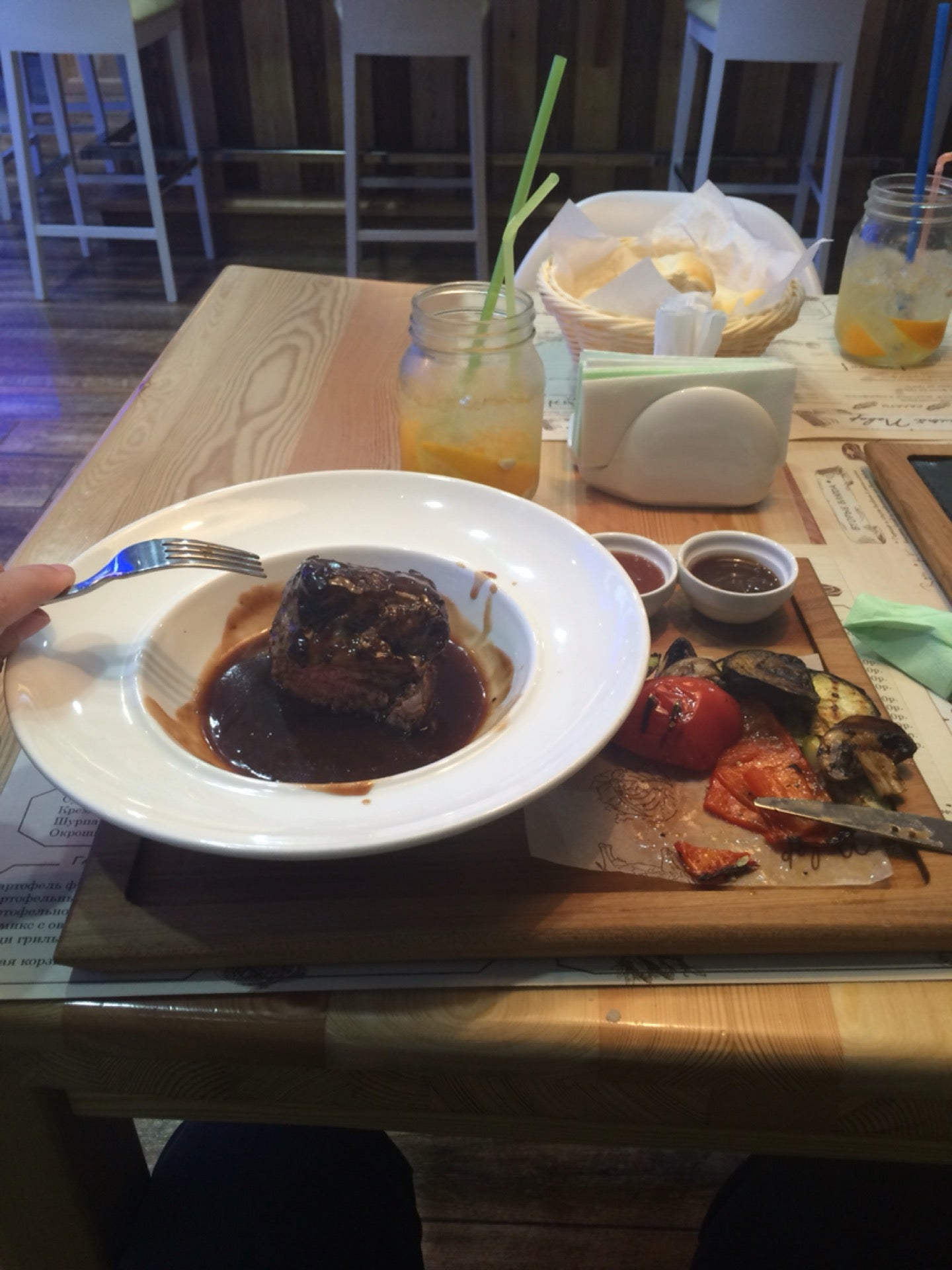 Голый повар краснодар меню