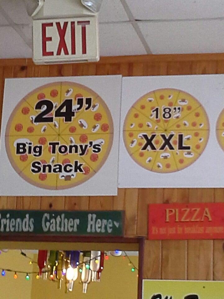 BIG TONY'S PIZZA,