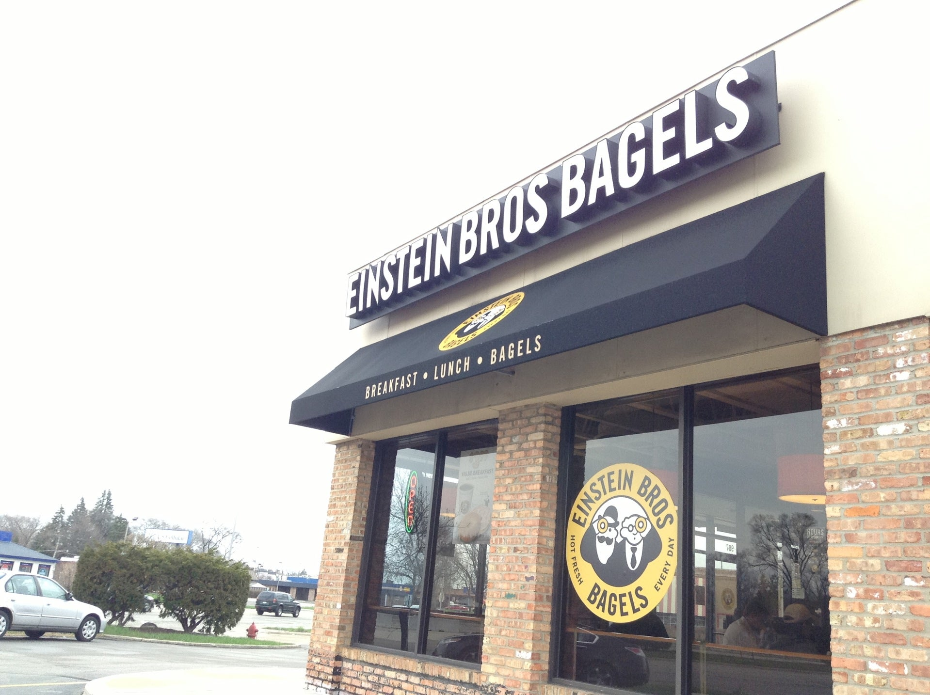 Einstein Bros Bagels,