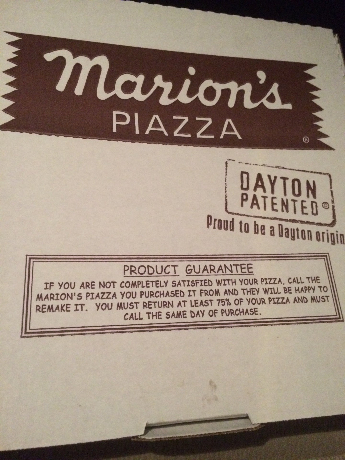 MARION'S PIZZA,