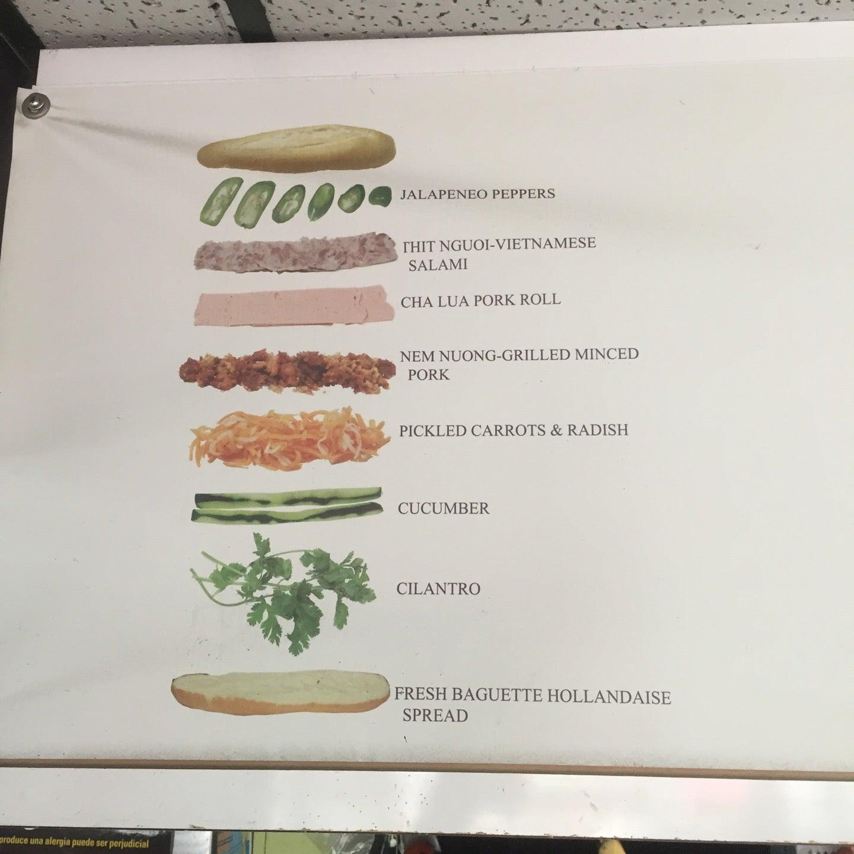 Saigon Vietnamese Sandwich,$4 bahn mi,banh mi,good_mark,restaurant, vietnamese,sandwich,vietnamese