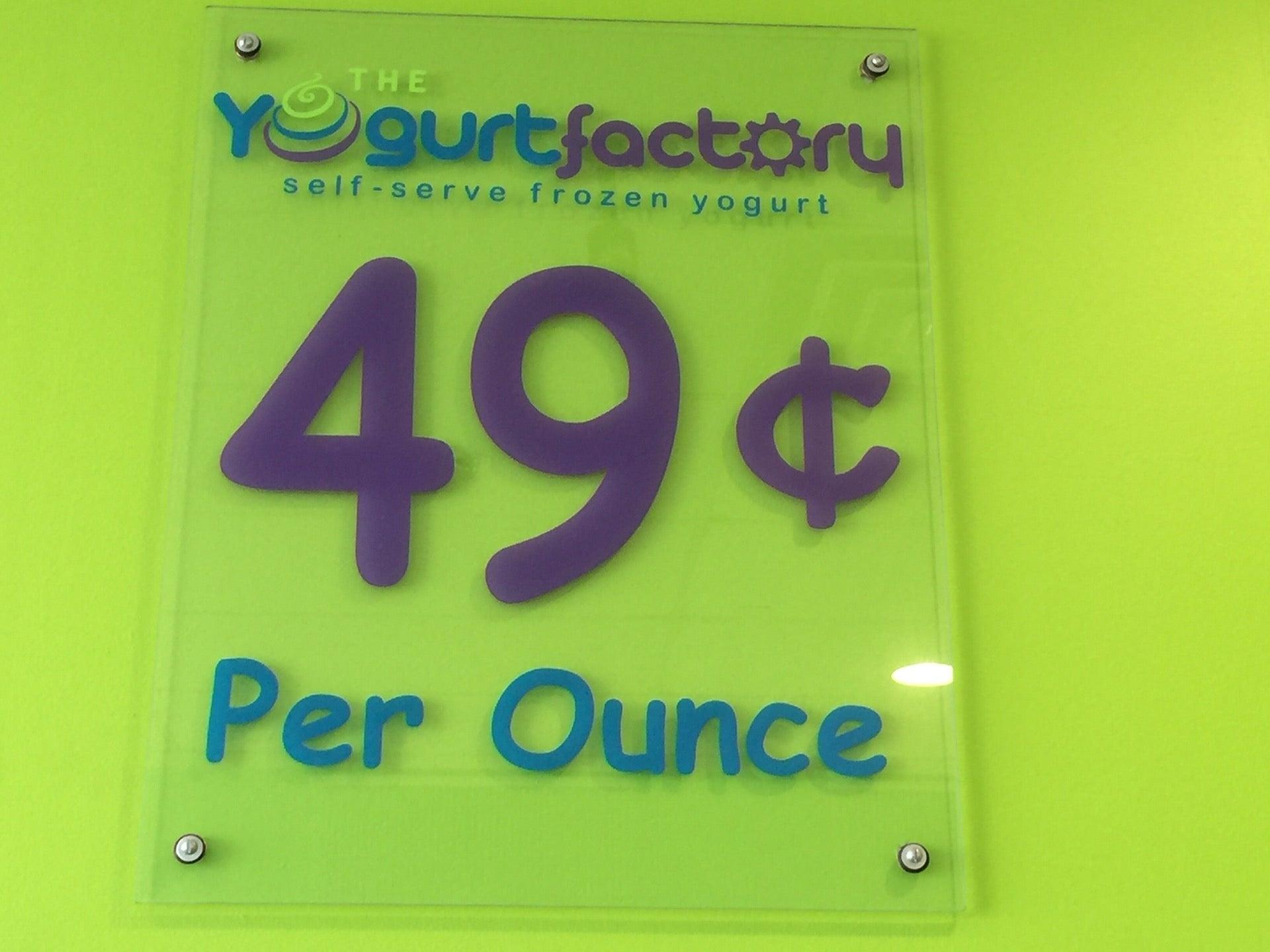 The Yogurt Factory,