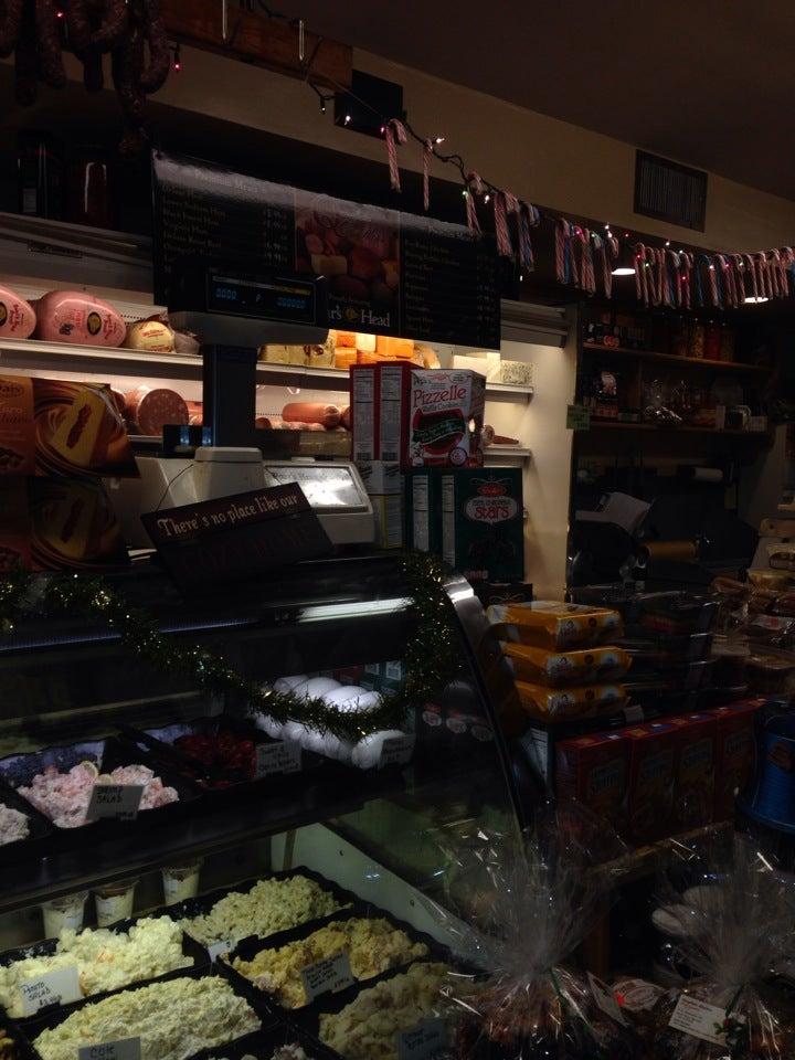 Quagliata Brothers,italian deli - butcher shop