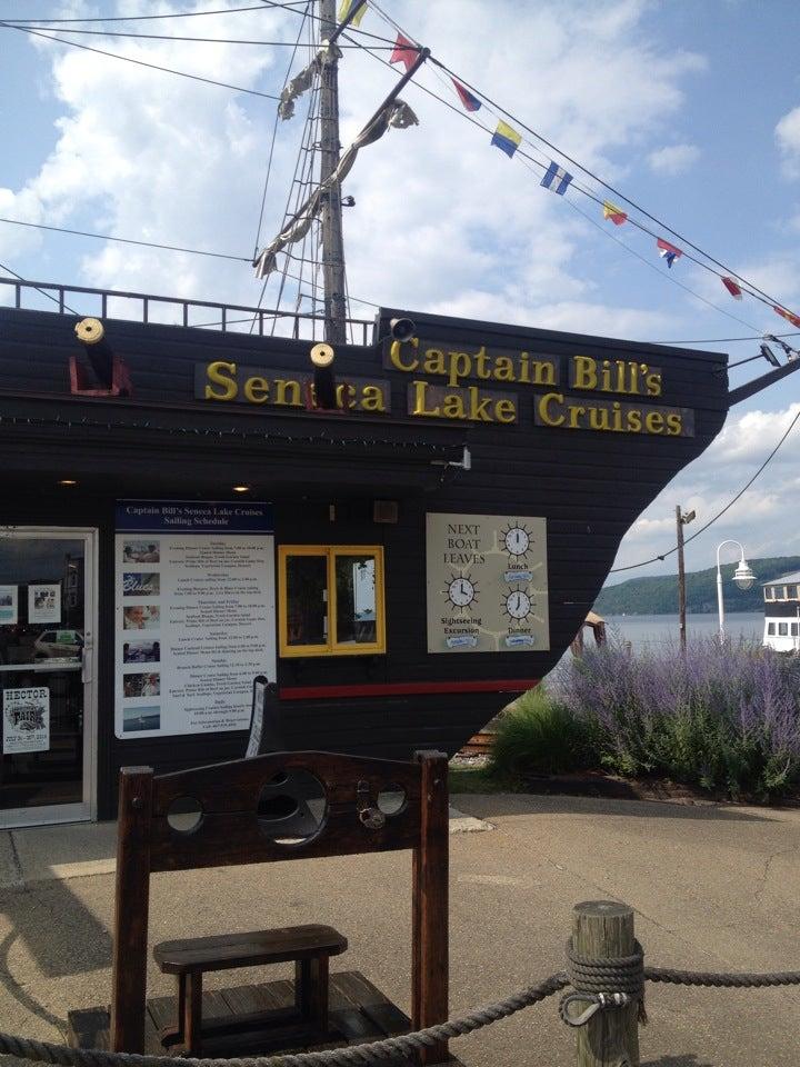 CAPTAIN BILL'S SENECA LAKE DINNER CRUISE, dinner or sightseeing cruises of seneca lake,lunch