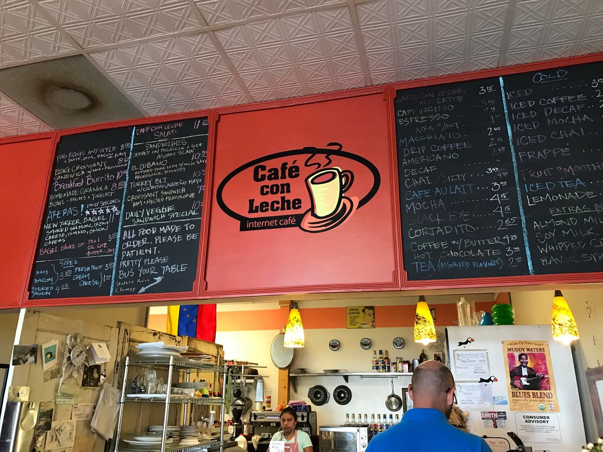 Cafe Con Leche,