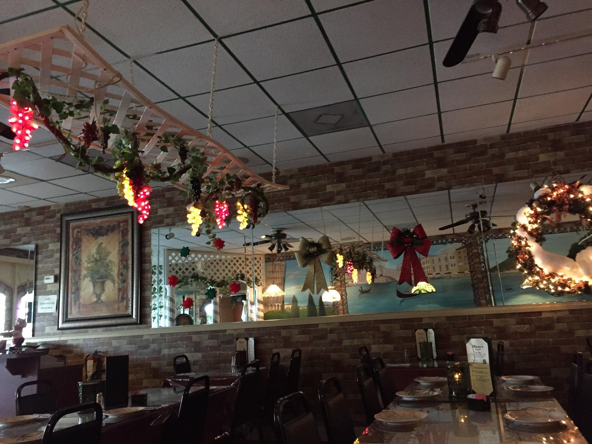 Mario's Italian Restaurant,
