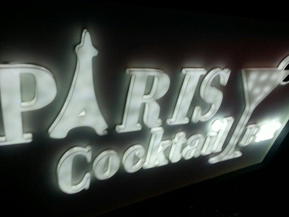 Paris cocktail