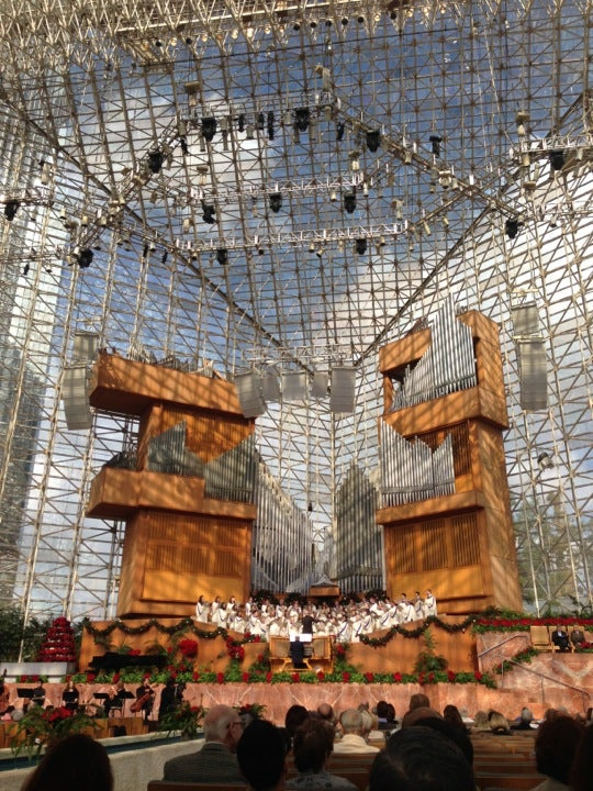 Freed Theater at The Christ Cathedral , Orange County ...