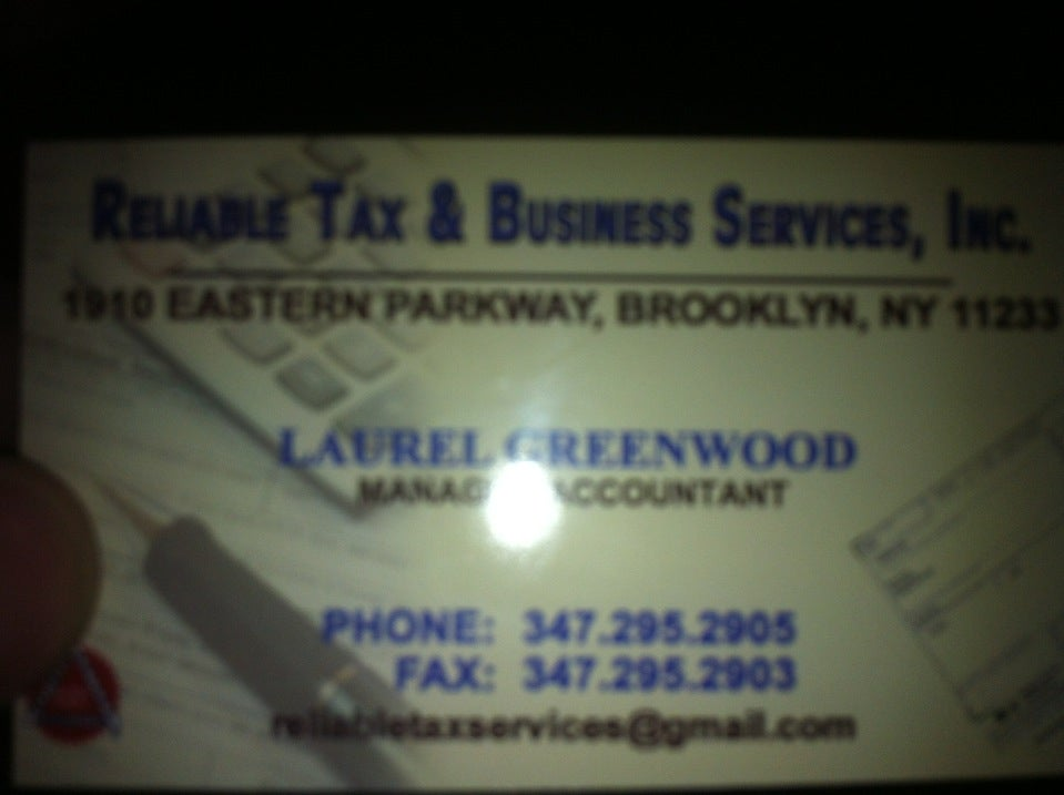 Reliable Tax & Business Solutions,