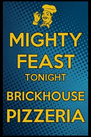 Brickhouse Fresh Pizzeria And Grill,beer,college,events,family restaurant,frat boys,music,pizza