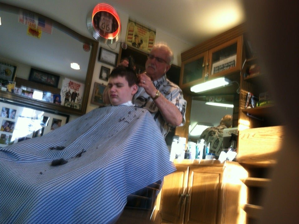 JIM'S BARBER SHOP,