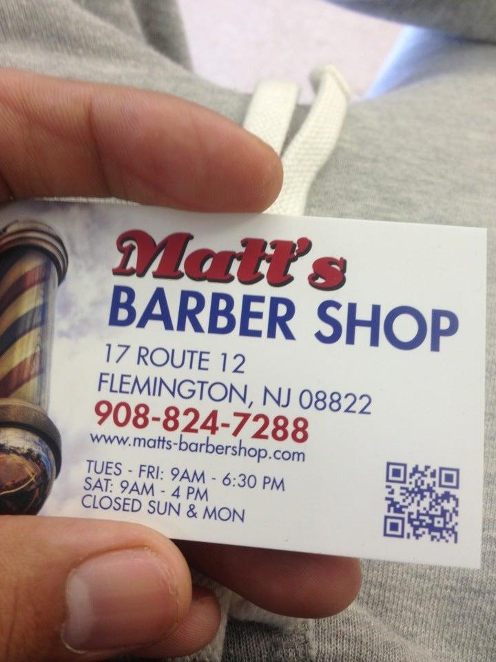Matt's Barber Shop,