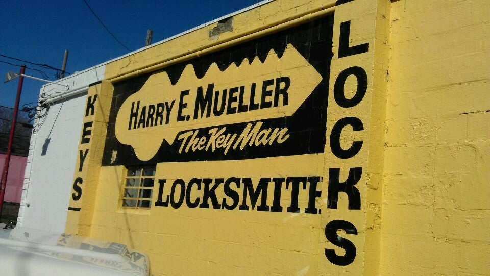 HARRY E MUELLER THE KEYMAN,