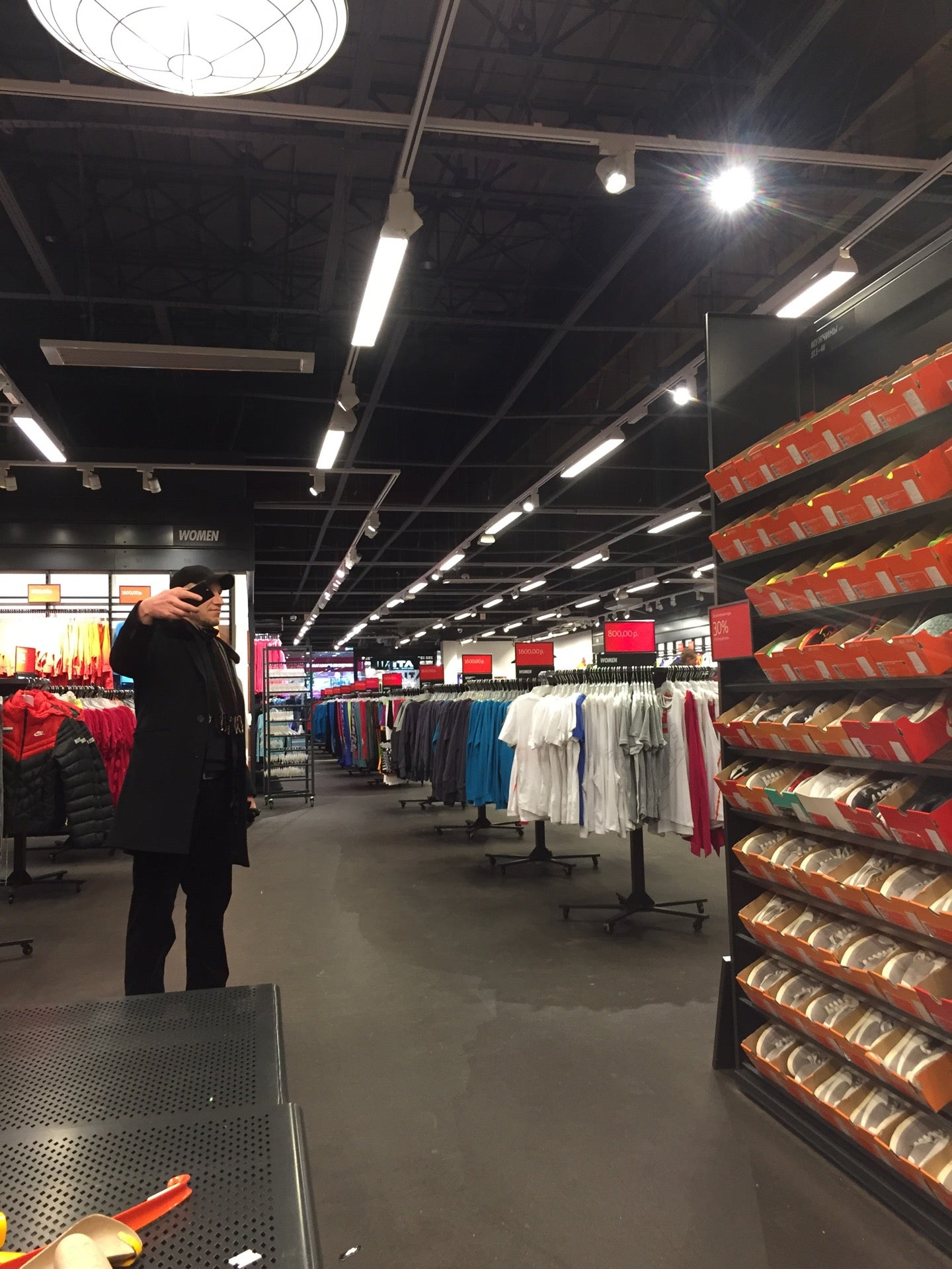 db70a48f Nike Дисконт Центр на Орджоникидзе, отзывы о спортивных магазинах ...