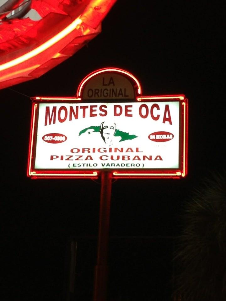 Montes De Oca,pizza