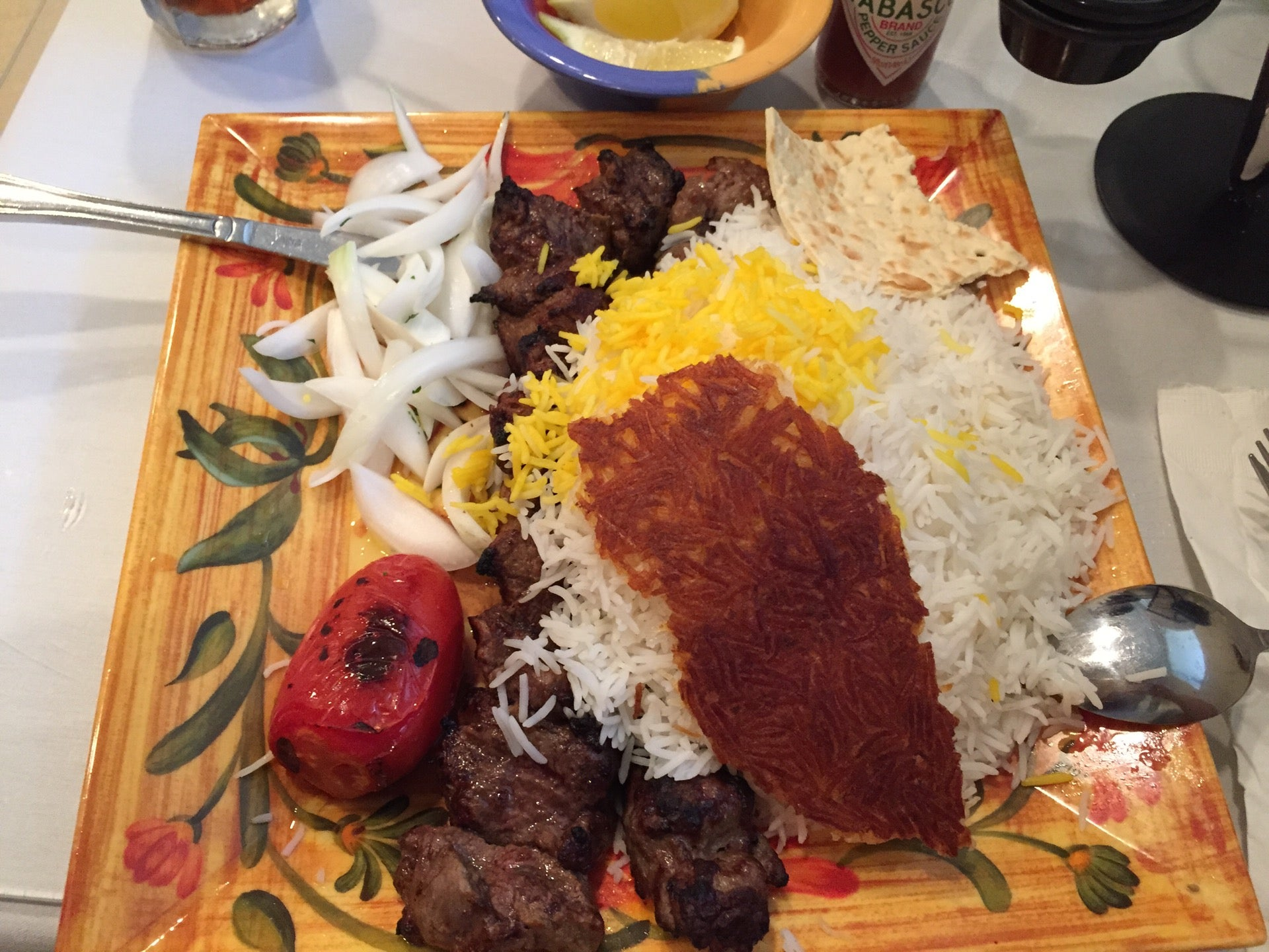Shamshiry,kabob,no single kebab can match the kubideh at this small, noise-filled persian restaurant on the ground floor of an office building in tysons.,tysons corner