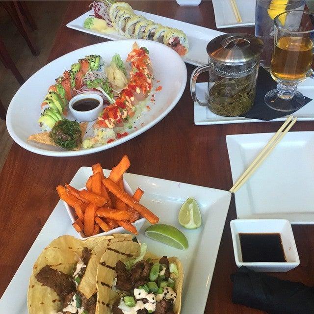 Eez Fusion and Sushi,sushi