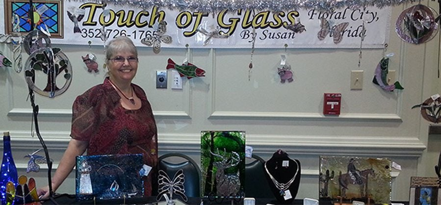 TOUCH OF GLASS BY SUSAN,
