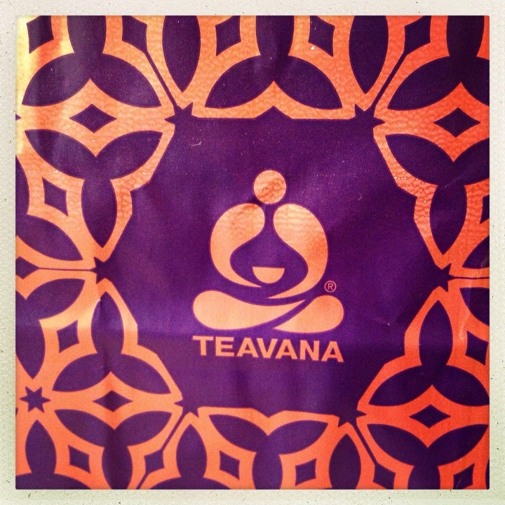 Teavana,samples,tea,yerba mate