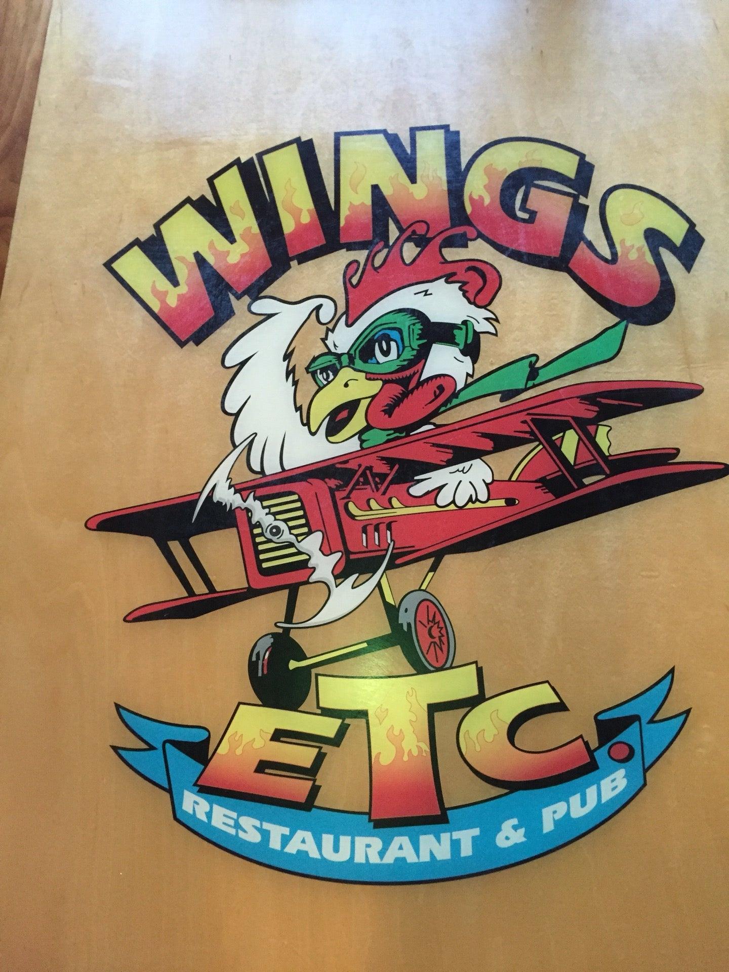 WINGS ETC, beer, hdtv, ribs, sports,wings