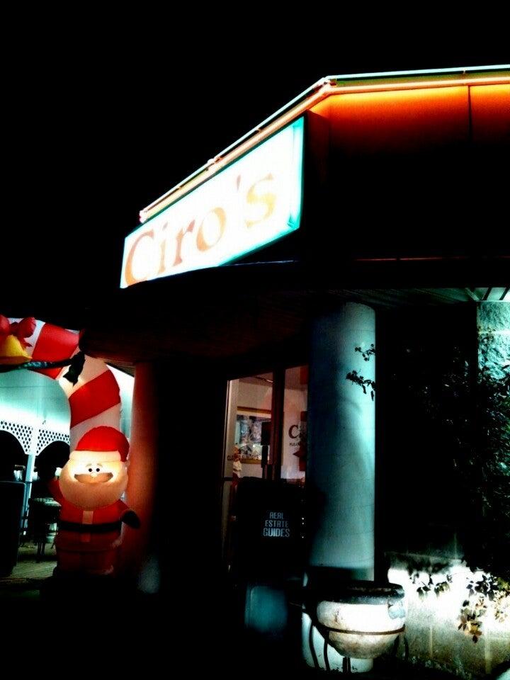 Ciro's Pizza,