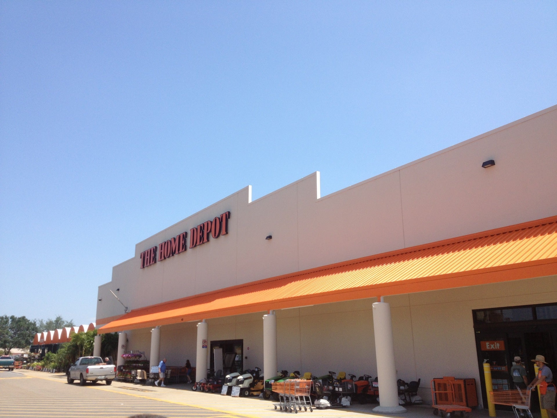 The Home Depot,appliances,electrical,lumber,paint,plants,plumbing,storage