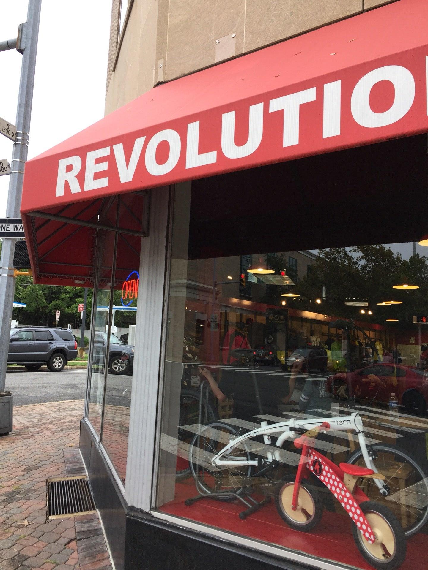 REVOLUTION CYCLES,bicycle,bicycle repair,clarendon,felt dealer,raleigh dealer,trek dealer