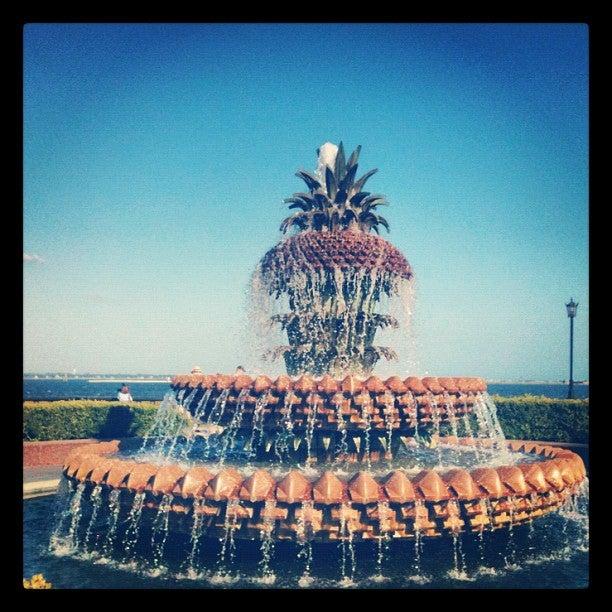 The Pineapple Fountain
