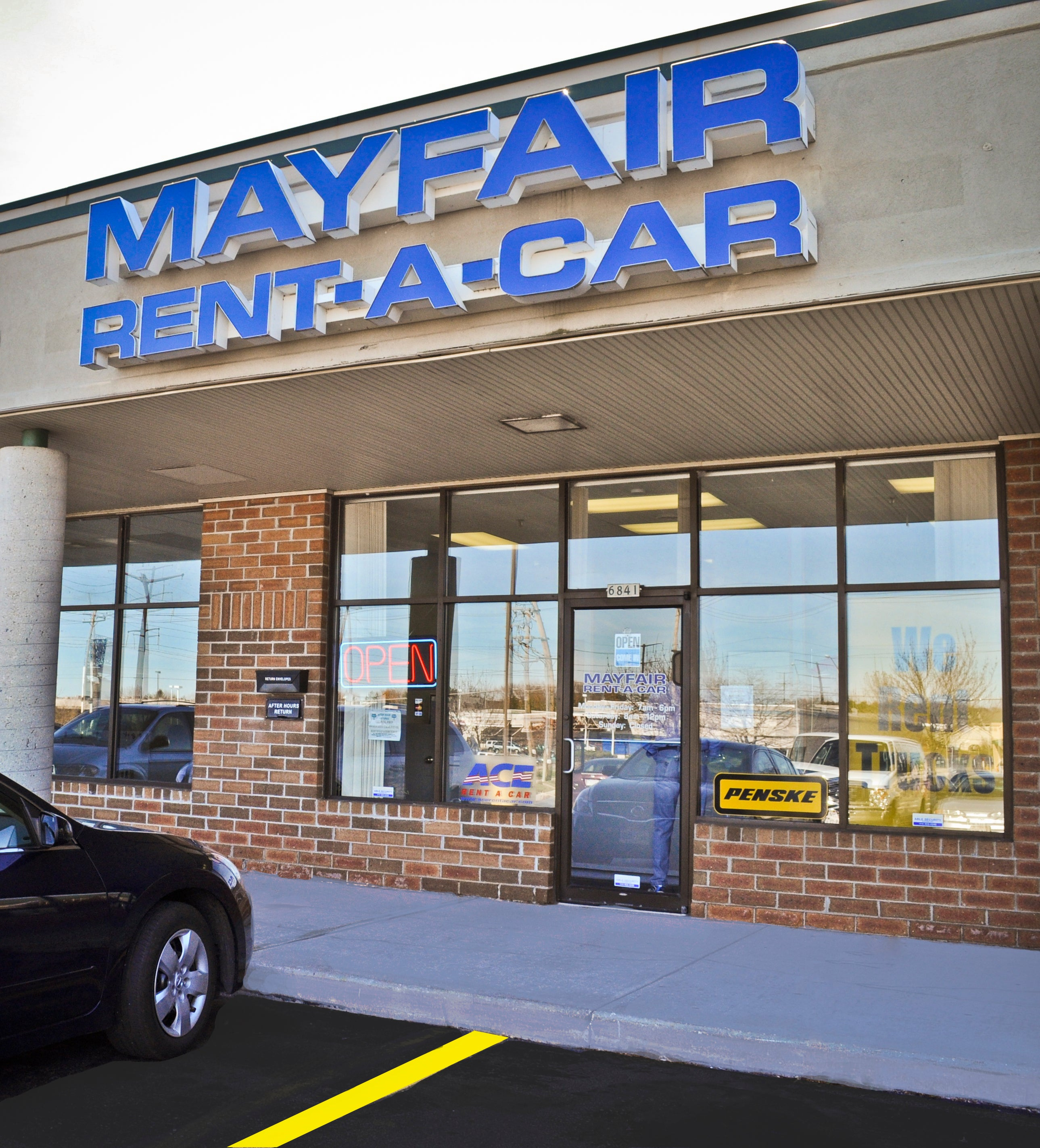 Mayfair Rent A Car Brown Deer,