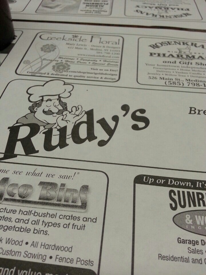 RUDY'S,comfort food,good ol fashion diner food,hamburger,hot dogs