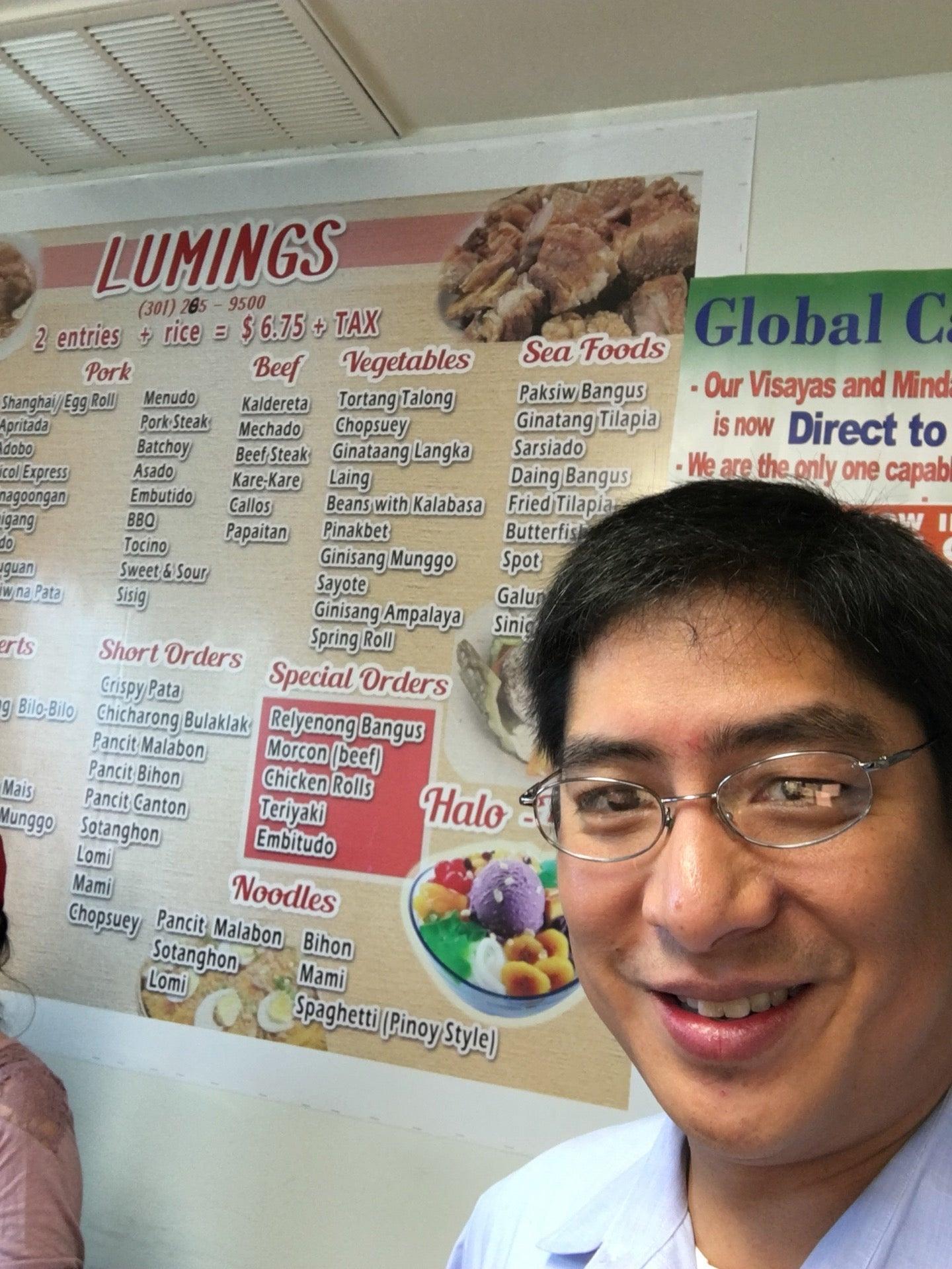 Lumings Llc, catering,filipino food