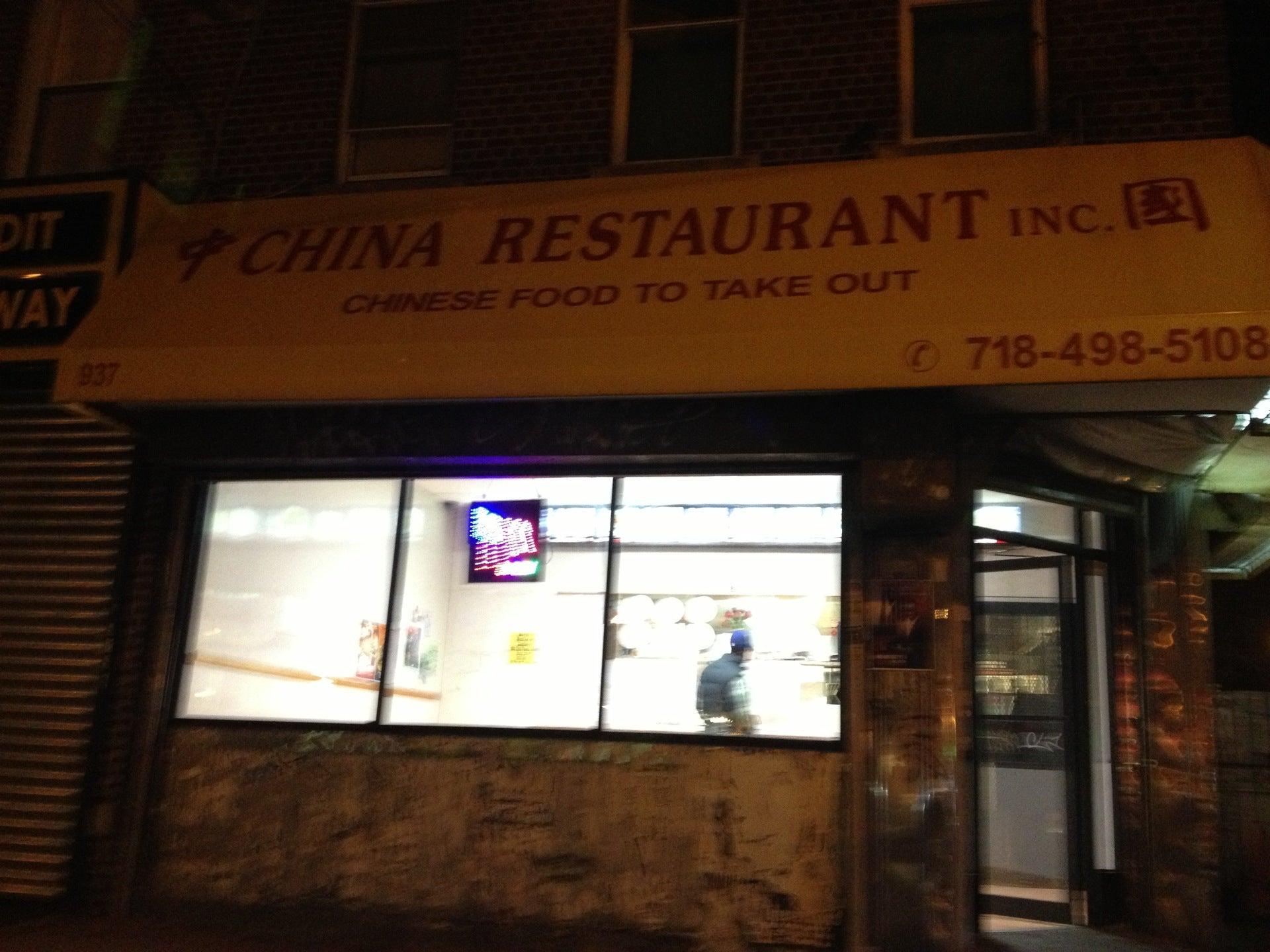 China Restaurant,