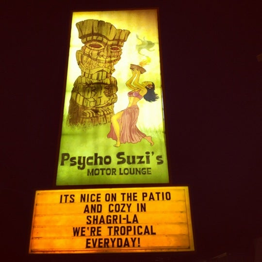 Psycho Suzi's Motor Lounge & Tiki Garden