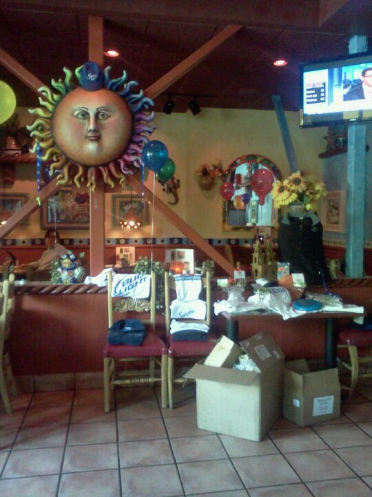 Margarita's Mexican Restaurant, and saturdays to play wii in our lounge area, friday,great food and service!  come in on thursday