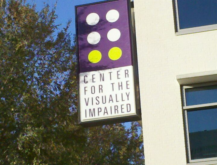 CENTER FOR THE VISUALLY IMPAIRED,blind, visually impaired, braille, gifts, canes, services, classes, support