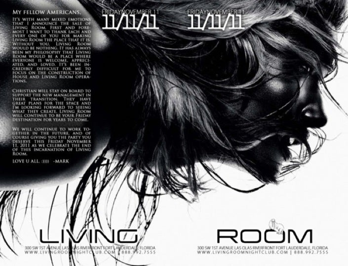 Living Room Nightclub (Fridays)