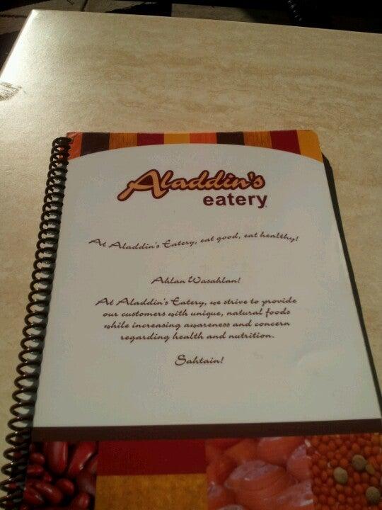 ALADDIN'S EATERY,