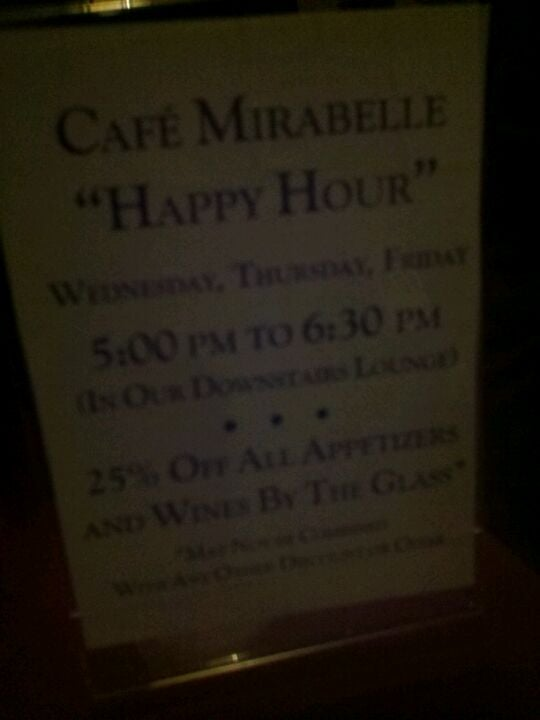 Cafe Mirabelle,portsmouth's best appetizers and homemade desserts