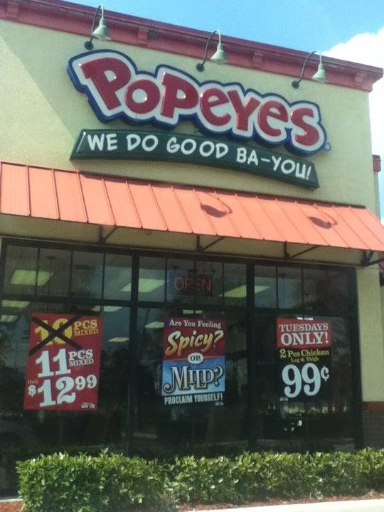 Popeyes Chicken,