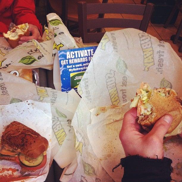 Subway Sandwiches,sandwich