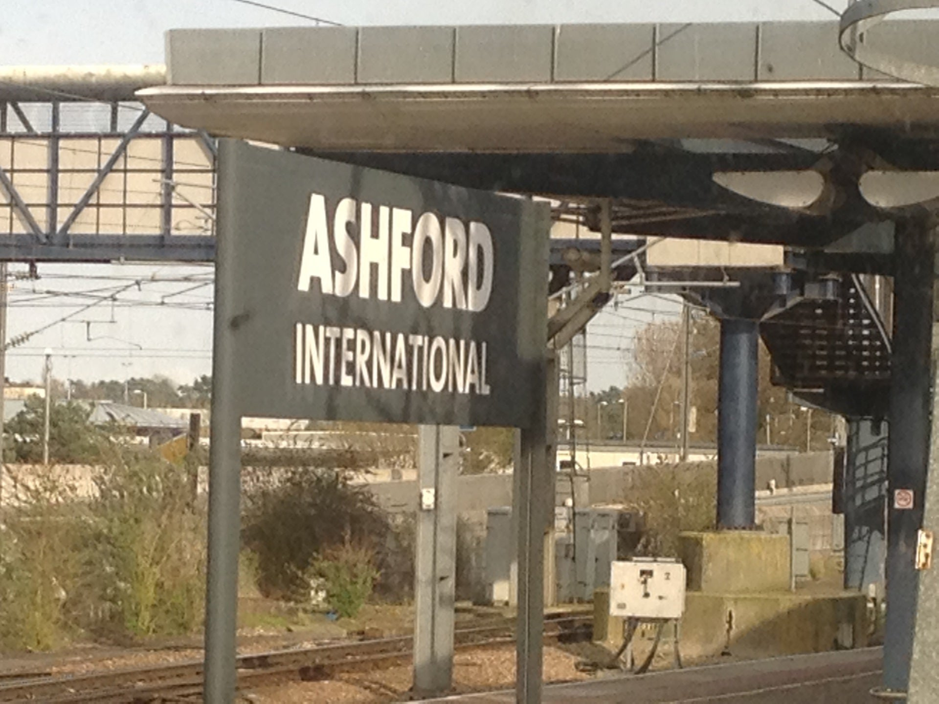 Gare d'Ashford International